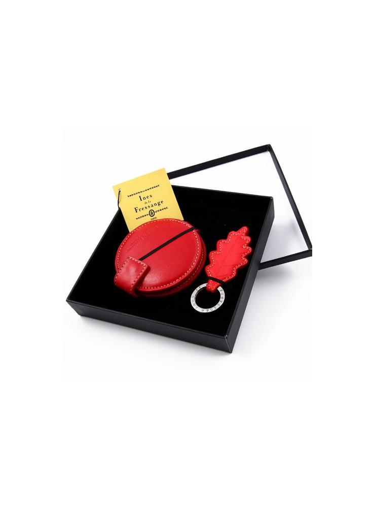 Porte-clés + Miroir Ines de la Fressange  publicitaire
