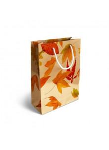 objet publicitaire - promenoch - Sac Papier Luxe Impression Quadri  - Sac Papier Personnalisé