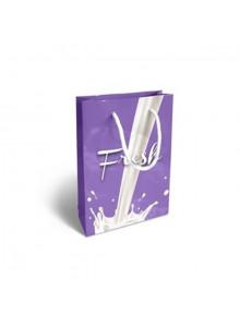 objet publicitaire - promenoch - Petit Sac Papier Impression Quadri  - Sac Papier Personnalisé