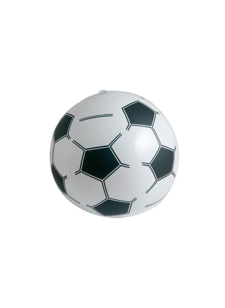 Ballon de plage gonflable foot  publicitaire