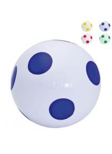 objet publicitaire - promenoch - Ballon de Plage Gonflable Diam 30 cm  - Ballons plage gonflables
