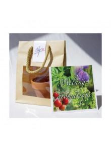 objet publicitaire - promenoch - Kit de Plantation Kraft  - Plantes Personnalisés