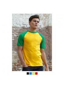 objet publicitaire - promenoch - T-shirt Homme Bicolore 160g  - Tee-shirt Unisexe