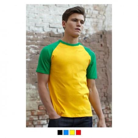 T-shirt Homme Bicolore 160g