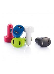objet publicitaire - promenoch - Chargeur Allume Cigare USB  - Accessoires Smartphone