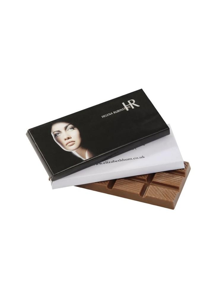 Tablette de Chocolat personnalisable  publicitaire