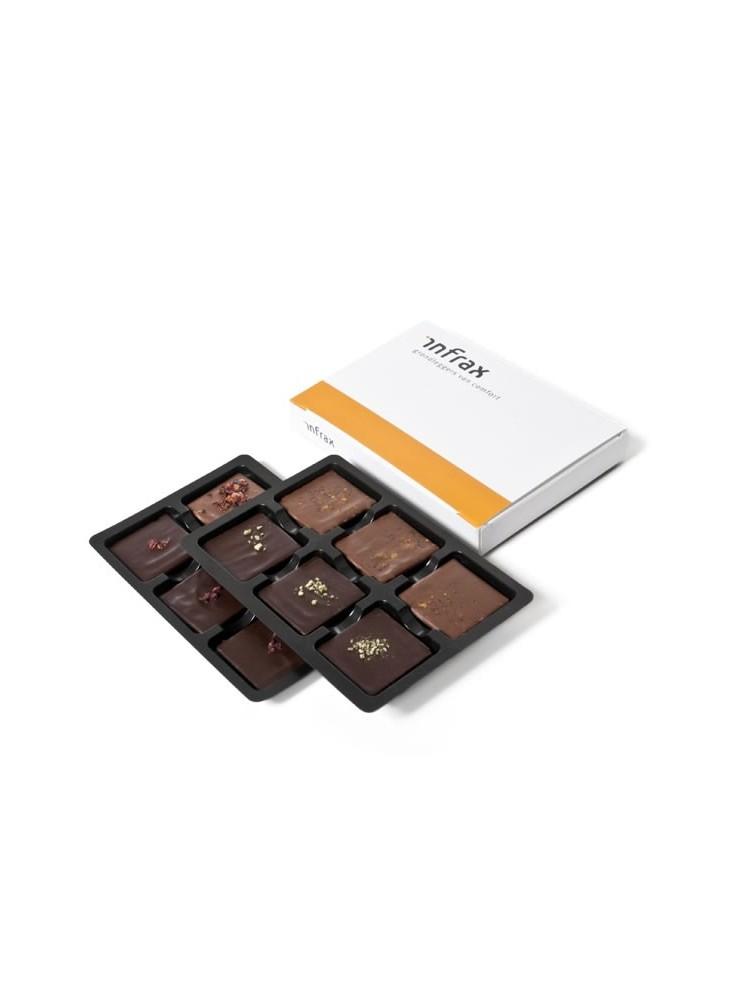 Boîte 12 Chocolats Personnalisée  publicitaire