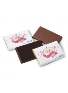 objet publicitaire - promenoch - Rectangle de Chocolat Personnalisé  - Chocolats Personnalisables