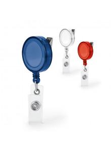 objet publicitaire - promenoch - Porte Badge Zip  - Portes-badges personnalisables