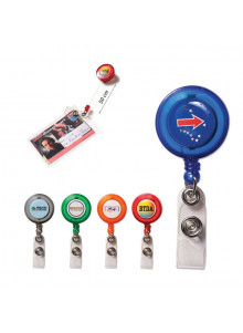 objet publicitaire - promenoch - Porte-badge Color  - Portes-badges personnalisables