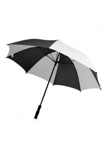 objet publicitaire - promenoch - Parapluie Bicolore Publicitaire  - Parapluie manche droit