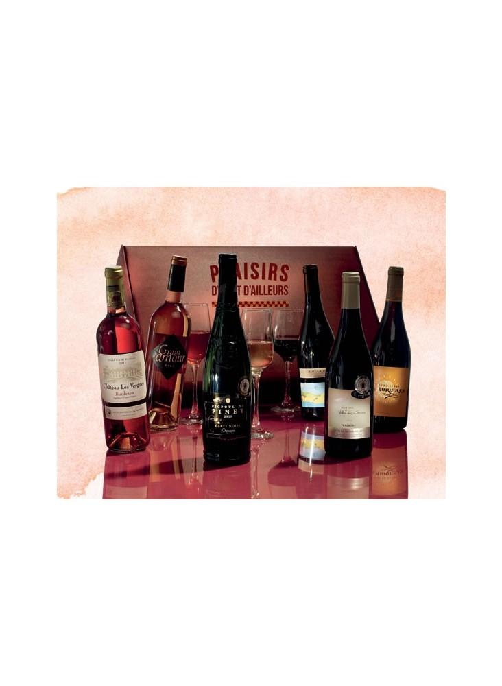 Coffret 6 Bouteilles de Vin  publicitaire