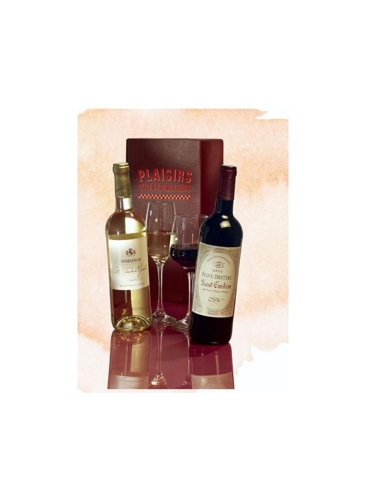 Coffret 2 Bouteilles de Vin  publicitaire