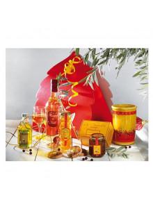 objet publicitaire - promenoch - Panier Gourmand Noël en Roussillon  - Panier Gourmand
