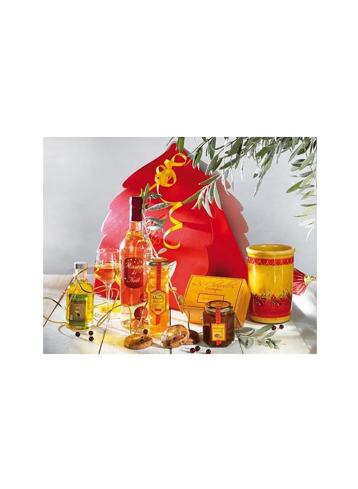 Panier Gourmand Noël en Roussillon  publicitaire