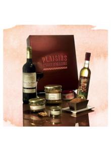 objet publicitaire - promenoch - Panier Gourmand Vendanges Tardives  - Panier Gourmand