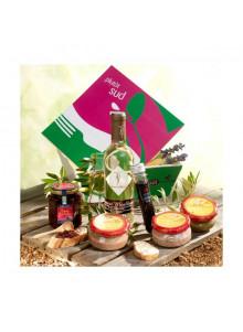 objet publicitaire - promenoch - Panier Gourmand Dégustation en terrasse  - Panier Gourmand