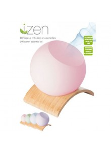 objet publicitaire - promenoch - Diffuseur d'huiles essentielles Izen  - Coffret Beauté Bien être
