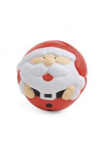 objet publicitaire - promenoch - Balle Anti Stress Père Noël  - Ambiance Noël