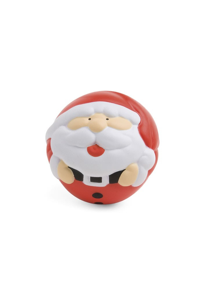 Balle Anti Stress Père Noël  publicitaire