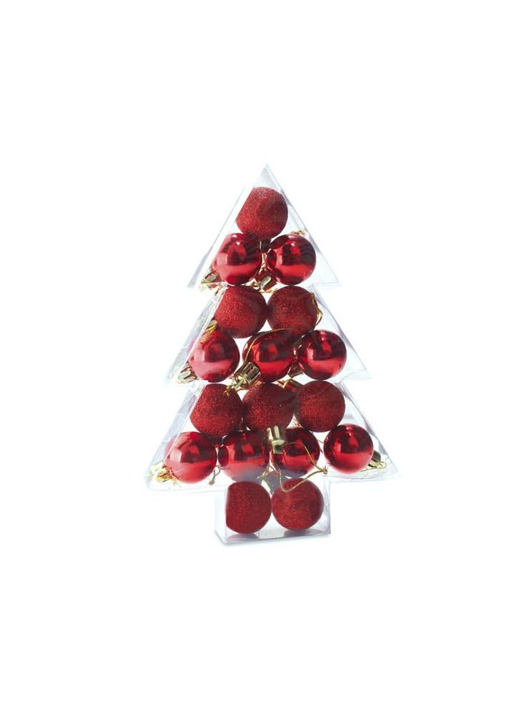 17 Boules de Noël  publicitaire