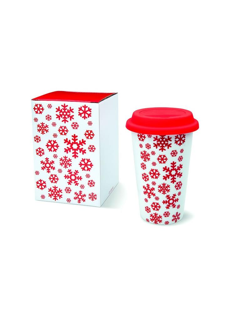 Mug Double Paroi Design Noël  publicitaire