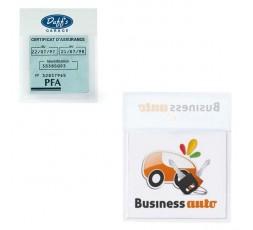 objet publicitaire - promenoch - Porte Vignette Assurance Auto  - Accessoires Auto