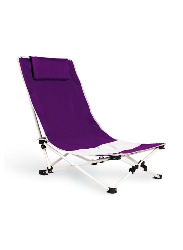 Chaise de plage pliable  publicitaire