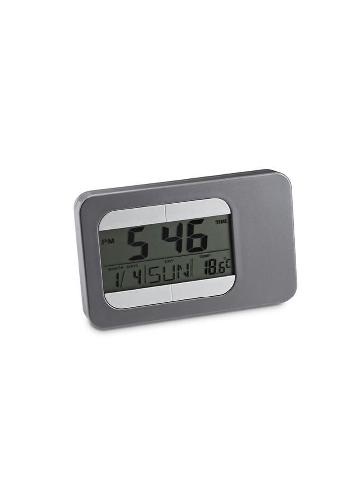 Horloge de Bureau + Météo  publicitaire