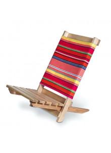Chaise de plage bois