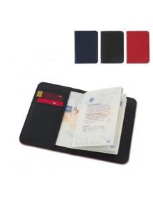 objet publicitaire - promenoch - Porte Passeport  - Porte-Cartes Publicitaires