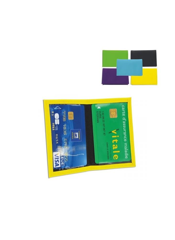 Porte Carte de Crédit  publicitaire