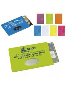 objet publicitaire - promenoch - Etui Carte de crédit  - Porte-Cartes Publicitaires