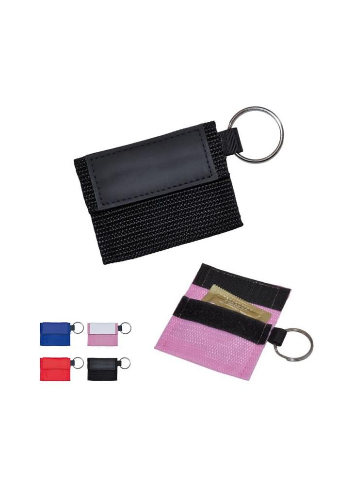 Porte-clés Pochette Préservatif  publicitaire