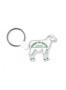 objet publicitaire - promenoch - Porte-clés Mouton  - Porte-clés Publicitaire