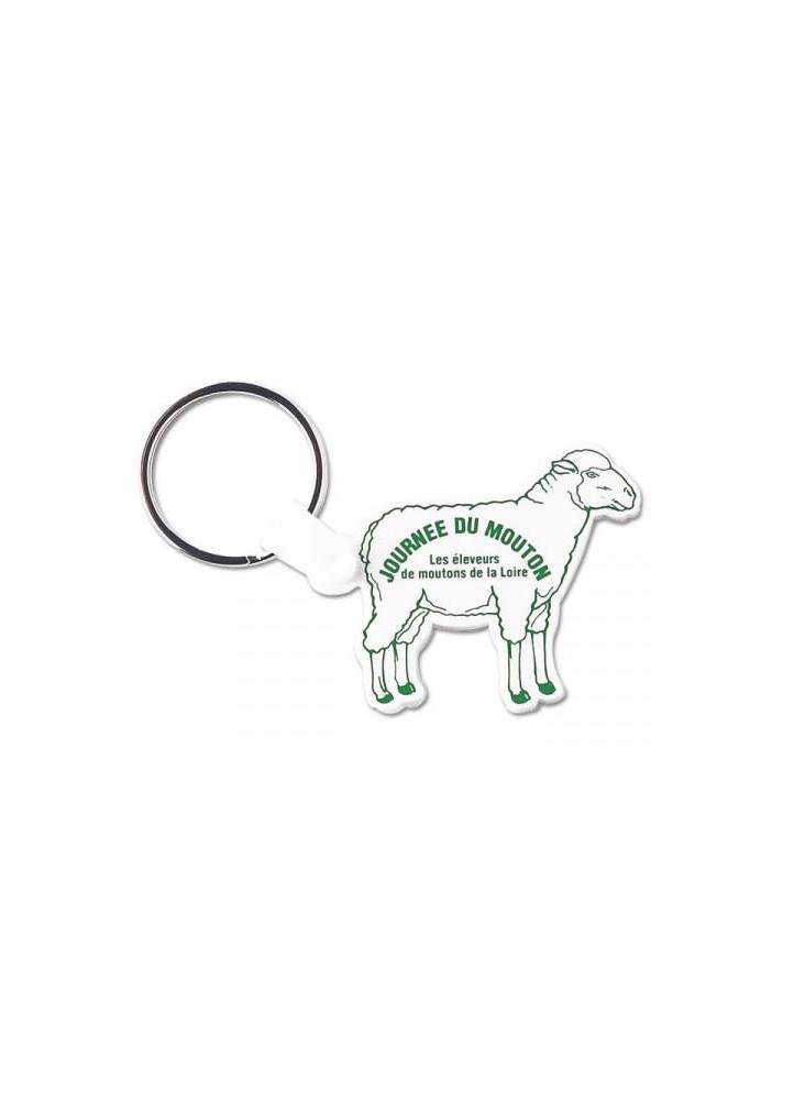 Porte-clés Mouton  publicitaire