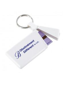 objet publicitaire - promenoch - Porte-clés Ticket Métro  - Porte-clés Publicitaire