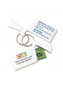 objet publicitaire - promenoch - Porte-clés Préservatif  - Porte-clés Publicitaire