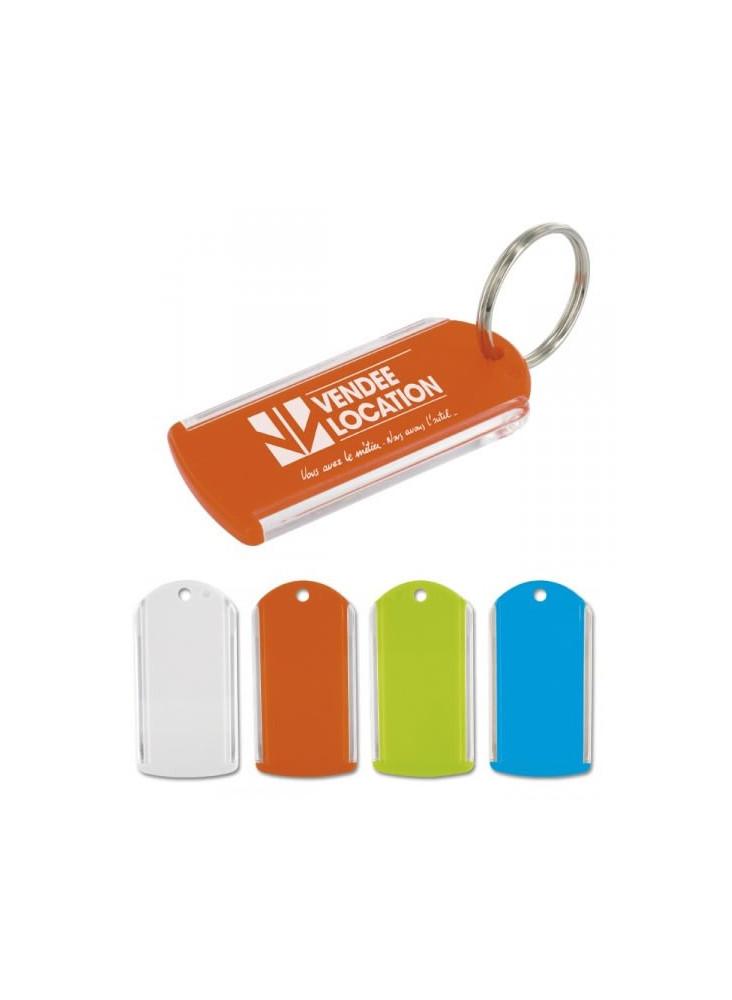 Porte-clés Porte Etiquette  publicitaire