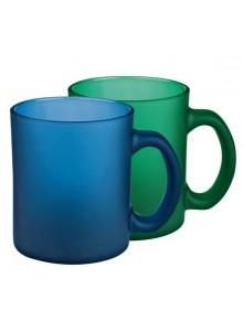 objet publicitaire - promenoch - Mug Verre Givré  - Mugs - Sets à café ou thé