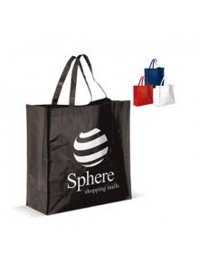 objet publicitaire - promenoch - Sac Shopping PP Tissé  - Sac Shopping & Course