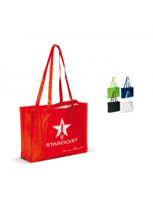 objet publicitaire - promenoch - Sac Shopping Otalia Longues Anses  - Sac Shopping & Course