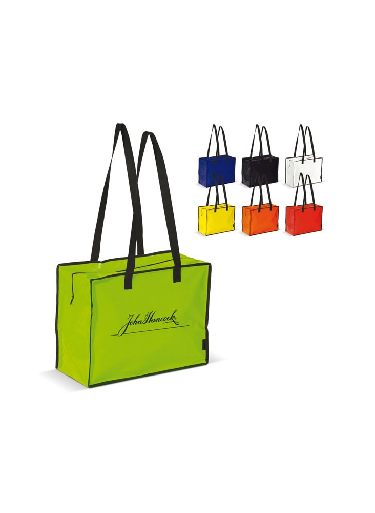 Sac Shopping Fermeture Eclair  publicitaire