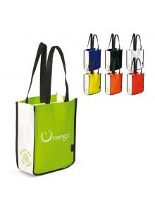 objet publicitaire - promenoch - Petit Sac Shopping Non Tissé  - Sac Shopping & Course