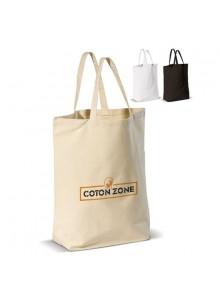 objet publicitaire - promenoch - Sac Coton Vanissa  - Sac Shopping & Course