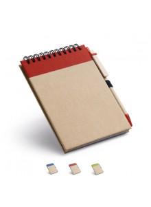 objet publicitaire - promenoch - Bloc-notes Spirales Cutis  - Carnets et bloc-notes Personnalisés