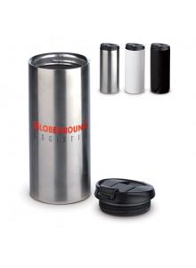 objet publicitaire - promenoch - Mug de Voyage Etanche 350 ml  - Mug Thermos Personnalisé