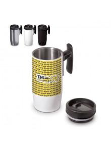 objet publicitaire - promenoch - Mug de Voyage Thermos 300 Ml  - Mug Thermos Personnalisé