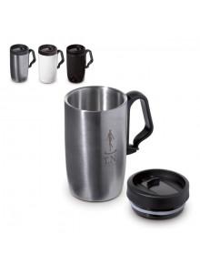 objet publicitaire - promenoch - Mug de Voyage Thermos 240 ml  - Mug Thermos Personnalisé