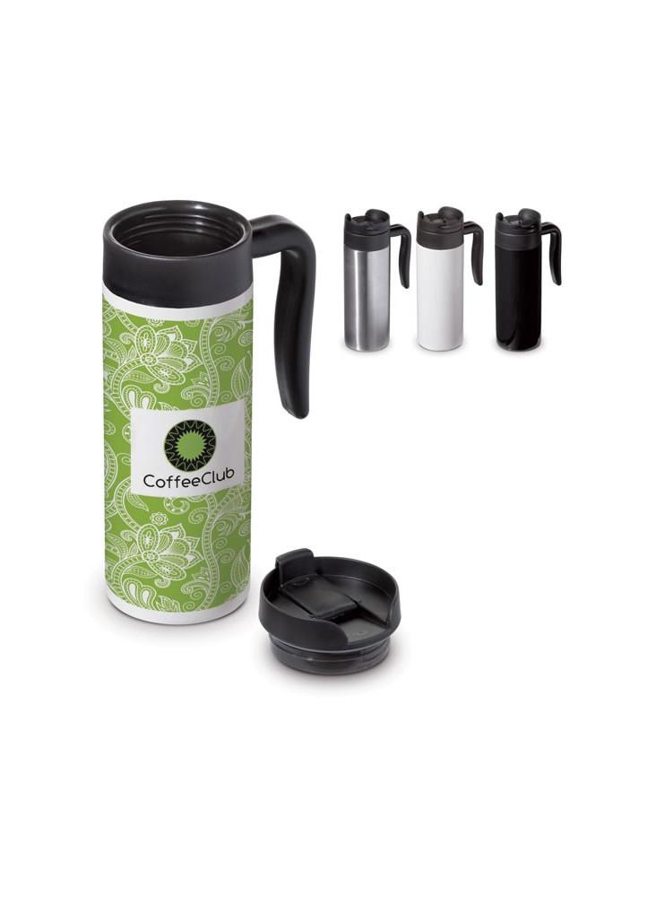 Grand Mug/Thermos de voyage Thermos 450 ml  publicitaire